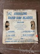Lot of Sterling Band Saw Blades Tri Temp Hard Edge Hard Back