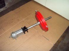 Linmex Pneumatic Barrel Mount Grease Gun
