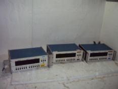 Lot of 3 Magtrol 4612B Power Analyzers