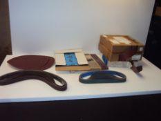 Assorted Sandpaper, Belts and Discs