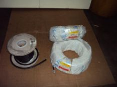 200+ Meters of 3 Wire Insulated Hook Cable