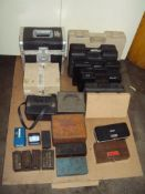Assorted Empty Tool and Instrument Boxes and Cases