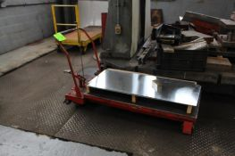 Portable Hydraulic Die Lift Table