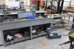 Lot of 4) Workbenches