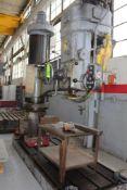 "HCP Model WR5x2 7' x 17"" Radial Drill"