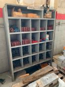 Steel Shelf with Contents
