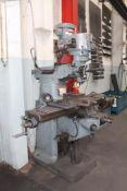 Bridgeport 2 Hp Variable Speed Vertical Milling Machine
