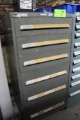 Vidmar 6 Drawer Tool Cabinet w/ Contents