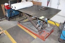 Autoquip 3000 Lb. 4' x 8' Hydraulic Scissors Lift Table