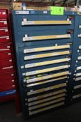 Vidmar 13 Drawer Tool Cabinet w/ Contents