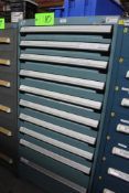 Rousseau 9 Drawer Tool Cabinet w/ Contents