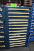 Vidmar 14 Drawer Tool Cabinet w/ Contents
