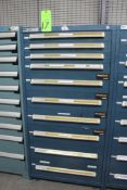 Vidmar 10 Drawer Tool Cabinet w/ Contents