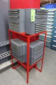 Drill & Tap Index Cabinets w/ Contents