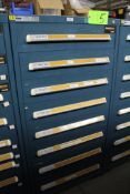 Vidmar 8 Drawer Tool Cabinet w/ Contents