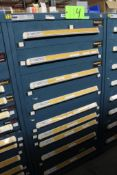 Vidmar 9 Drawer Tool Cabinet w/ Contents