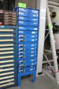 Stackable Fastener Storage Cabinets w/ Contents