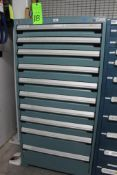 Rousseau 10 Drawer Tool Cabinet w/ Contents