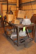 Large Rolling Cart w/ misc Contents