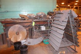 Lot of Assorted Steel & Steel Rack