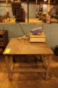 Steel Table, no contents