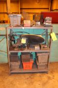 Steel Shelf w/ Contents
