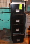 Lot of 2 Filing Cabinets