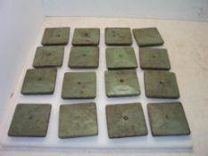 (16) AirLoc Anti Vibration Machine Pads