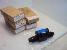 (5) Yuken DSG013C4D24-70 Directional Control Solenoid Hydraulic Valves