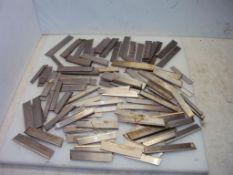 Assorted HSS Parting Tool Cutoff Blades