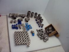 Assorted Stainless Steel Fittings