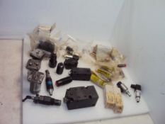 Assorted Hydraulic Work Supports and Valves