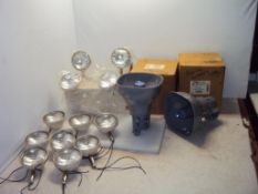 Emergency Exit Lights & Atlas Pager Speakers