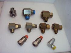 Hydraulic Swivel Joint Fittings
