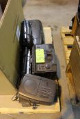 Lot of Assorted CD Players and Radios