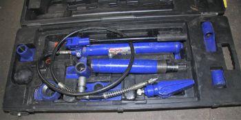 Westward 10 Ton Hydraulic Ram System Kit