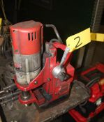 Milwaukee Heavy Duty Magnetic Base Drill