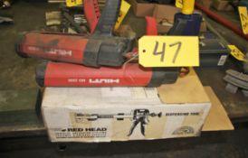 Hilti Mdl 2000 Adhesive Guns