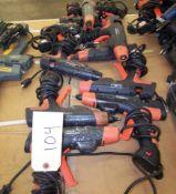 (10) ASSORTED HOT GLUE GUNS