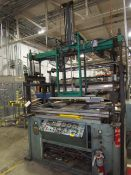 """PACKAGING INDUSTRIES MDL.VF3050 SINGLE STATION THERMOFORMER, 30"""" X 50"""" TABLE"""