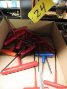 """""""T"""" Handle Allen Wrenches"""