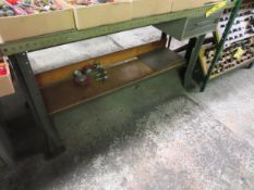 """60"""" X 28"""" Work Bench ( No Contents)"""