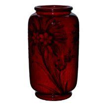 Large Moorcroft Floral Vase, Cornflower Pattern