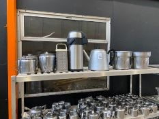 JOB LOT OF (TOP SHELF) CATERING EQUIPMENT