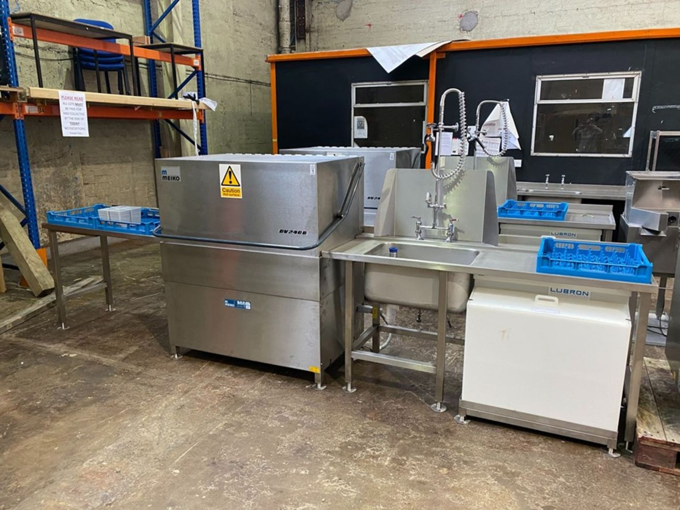 **POSTPONED DUE TO UPDATED COVID RESTRICTIONS** 250 LOT CATERING ONLINE AUCTION - ENDING 12TH DECEMBER FROM 12NOON - COLLECTION ONLY
