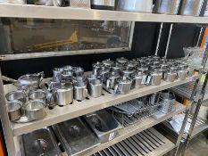 JOB LOT OF (SECOND SHELF) CATERING EQUIPMENT