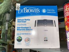 DR BROWN'S DELUXE BOTTLE STERILISER