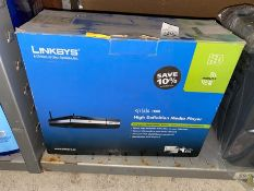 LINKSYS HD DVD MEDIA PLAYER