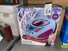 FROZEN PORTABLE CD PLAYER
