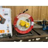 HEAVY DUTY CABLE EXTENSION REEL